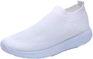 Modieuze sneakers voor dames Ademende mesh-schoenen Antislip Zomer Casual Loafers Lichtgewicht Outdoor Running Wandelschoenen