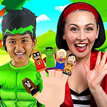 Superhero Finger Family