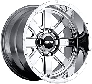 SOTA Offroad 569PL A.W.O.L. Full Wheel with Polished Finish (20 x 10. inches /6 x 5 inches, -25 mm Offset)