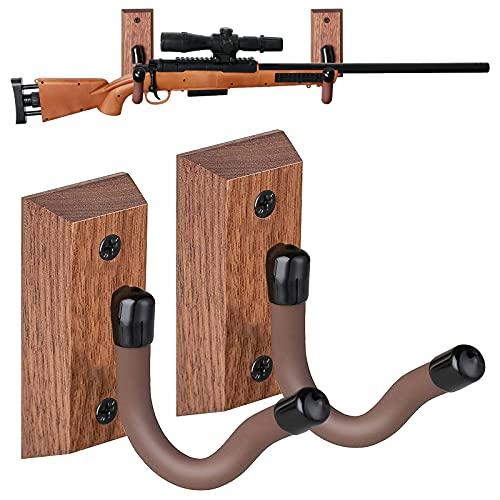 GOHIKING Horizontal Gun Rack, 1Pair U Shape Display Shotgun...