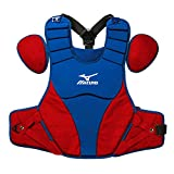 Mizuno 380320.5210.01.0000 Samurai Chest Protector (16') One-Size Royal-Red, Blue Red