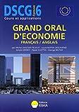 Grand oral d'économie français/anglais DSCG 6 - Anglais appliqué aux affaires