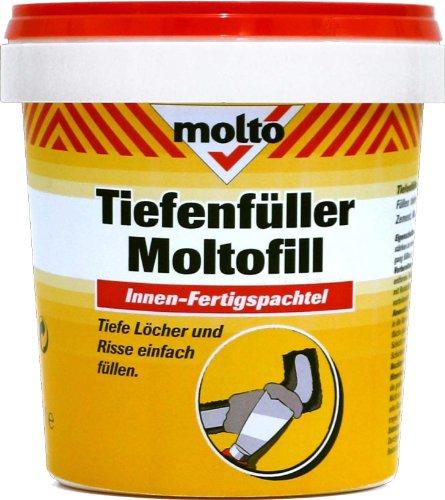 MOLTO 5087779 Tiefenfüller, Moltofill, grau, 1 Liter