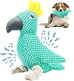 G.C Juguetes Perros Grandes Cachorros, Peluche de Juguetes para Masticar Perros Resistentes, Interactivo Cepillo de Dientes Juguetes para Mascotas de Pequeños y Medianos