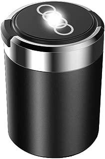 Kia Special Color : B FENGRONG Auto Aschenbecher Auto-Aschenbecher Mit Leichtem Tragbarem Rauchfreiem Zylinder Mit Auto-Logo Mit Deckel Multifunktionalem Innenraum Abnehmbarem Getr/änkehalter