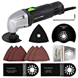 GALAX PRO 180W 22000 OPM Oscillating Multi Tool, 3 Degree Oscillating Angle with 3 Pieces Saw Blades, 1 Piece...