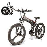 CAMTOP LO26 Biciclette Elettriche per Adulti 350 W Bici MTB...