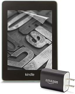 【セット買い】 Kindle Paperwhite wifi 32GB 広告つき 電子書籍リーダー (セージ) + Amazon純正充電器 + 保護フィルム