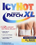 Icy Hot Extra Strength Medicated Patch, XL Back & Large Areas, 3 Count