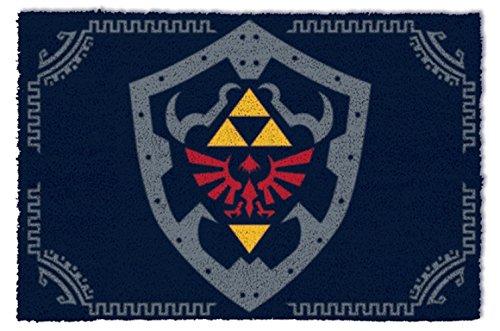 1art1 The Legend of Zelda - Hylian Shield Felpudo Alfombra (60 x 40cm)