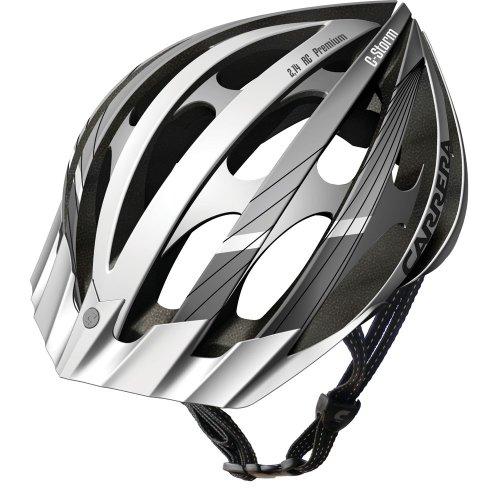 Carrera Fahrradhelm C-Storm, White, Helmgröße:54-57 cm