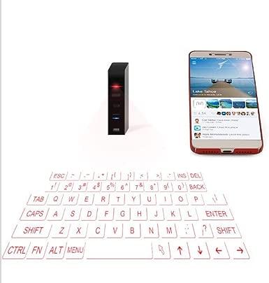 ZDJ Tragbare Virtuelle Tastatur Mini Drahtlose Bluetooth-Projektion Tastatur Und Maus f r Spiel-Liebhaber Geeignet F r Smartphone-Tablet-Laptops Und Internet-TV Schätzpreis : 65,03 €