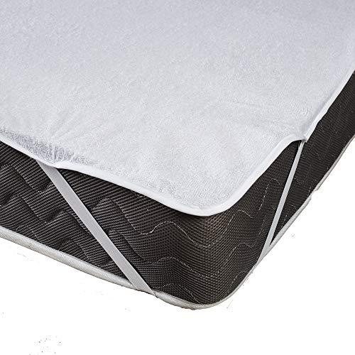 Bedtiantao matrasbeschermer, waterdicht, beschermhoes voor matrassen, van katoen, hypoallergeen, alle maten, beschermt tegen mijt