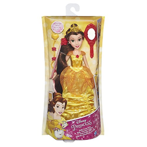 Hasbro Disney Prinzessin B5293ES0 - Disney Prinzessin Haarzauber Belle, Puppe