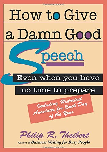 Download How to Give a Damn Good Speech 1564143066