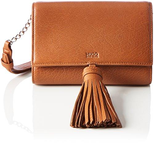 HUGO Damen Teresa-a 10202305 01 Schultertasche, Orange (Dark Orange), 4.5x13x18 cm