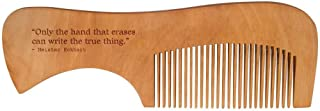 Truth Quote by Meister Eckhart Wooden Comb (HA00023268)