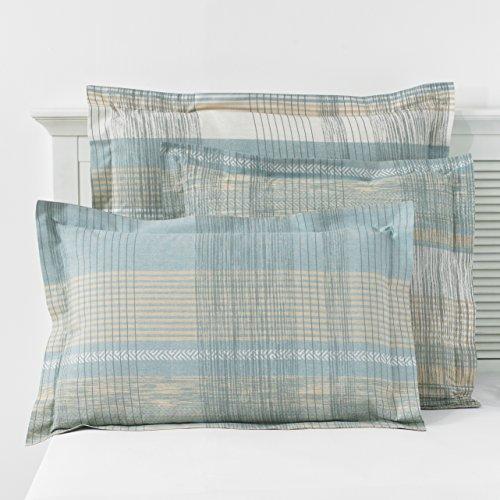 Great Knot 150 Themen zählen Malvern Kissen-, Oxford 50 x 75 + 5 cm, Cloud Blue