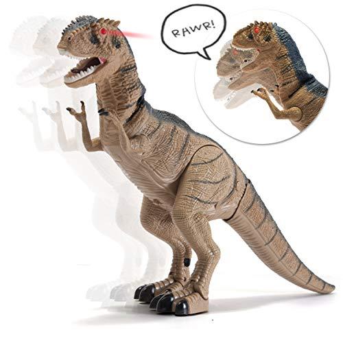 Prextex Battery Powered Walking Dinosaur...