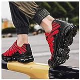 QBLDX Scarpe da Ginnastica per Ragazzi Scarpe da Ginnastica per Ragazze Scarpe Sportive per Bambini Scarpe da Corsa per Bambini Scarpe da Ginnastica di Moda Scarpe da Ginnastica da Tennis,Red-7.5uk