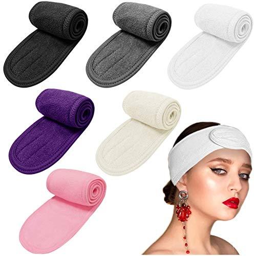 Diadema para el pelo con bandas para el pelo, antideslizante, elástica, lavable, para lavado de la cara