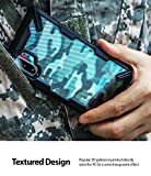 Ringke Fusion-X DDP Diseñado para Funda Galaxy Note 10 Plus, Carcasa Galaxy Note 10 Plus 5g Protección Resistente Impactos Funda para Galaxy Note 10 Plus (2019) - Camo Black