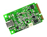 Syba IO Crest Mini PCI-Express 2.0 to USB 3.1 Type-C Gen 2 Card ASM1142 Chipset Components Other SI-MPE20214