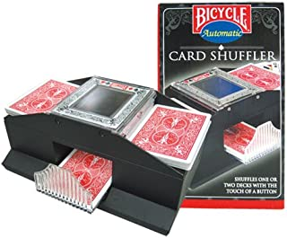 Bicycle Automatic Card Shuffler Shuffles 1 Or 2 decks with the Touch of a Button. (Cards..
