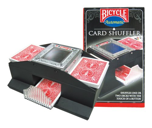 Bicycle Automatic Card Shuffler Shuffles 1 Or 2 decks with the Touch of a Button. (Cards Not...