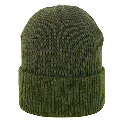 Fox Outdoor Products GI Wool Watch Cap, Olive Drab