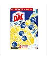 DAC Fragrance Boost Toilet cleaner Rim Block -Pack of 3 Rim Blocks 150 gm