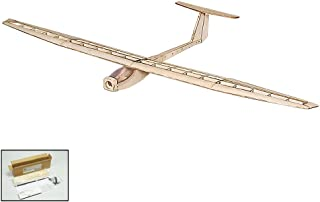 F1501 DW Hobby RC Airplane Balsawood Plane Model Glider Electric Power Griffin 1550mm Wingspan Laser Cut Airplane Model Building Kit