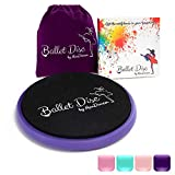 Ballet Turning Disc for Dancers, Gymnastics and Ice Skaters. Portable Turn Board for Dancing on Releve. Make Your Turns, Pirouette and Balance Better(Purple)