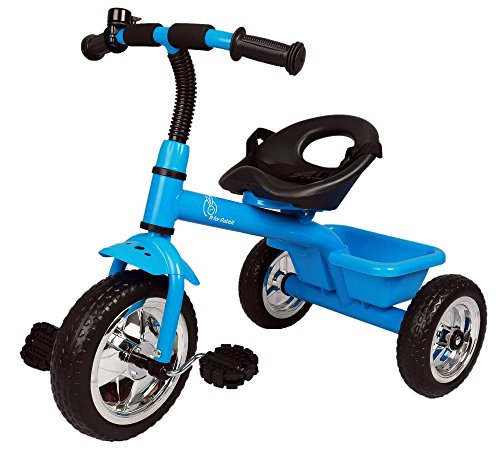 R for Rabbit Tiny Toes Plug and Play Baby Tricycle Trike Cycle for Kids of 1.5 to 5 Years with Basket(Blue)