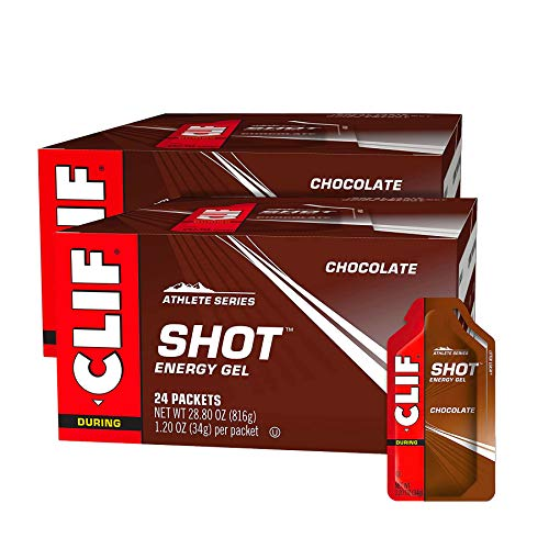 CLIF SHOT  Energy Gels  Chocolate  12 Ounce Packet 48 Count