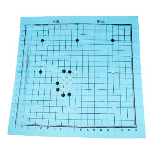 SM SunniMix 1 Stellen Folding Chinese Go Bang Brettspiel Strategiespiel für Camping, Picknick