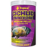 Tropical Cichlid Omnivore Medium Pellet, 1 Unidad (1 l)