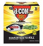 d-Con Rat Poison Bait Station, Bait Station + 2 Refills, 13 Piece Set