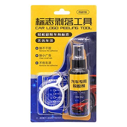 Linier Autokleberentferner, Allzweck-Spray zum Entfernen von Sticks, professioneller Gunk-Reiniger, geeignet zum Entfernen von Aufklebern, Klebeband, Kaugummi und klebrigen Stoffen