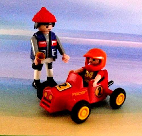 playmobil ® - Seifenkiste Kettcar - aus Seifenkistenrennen Vater und Sohn