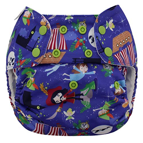 Blueberry One Size Simplex All in One Cloth Diapers