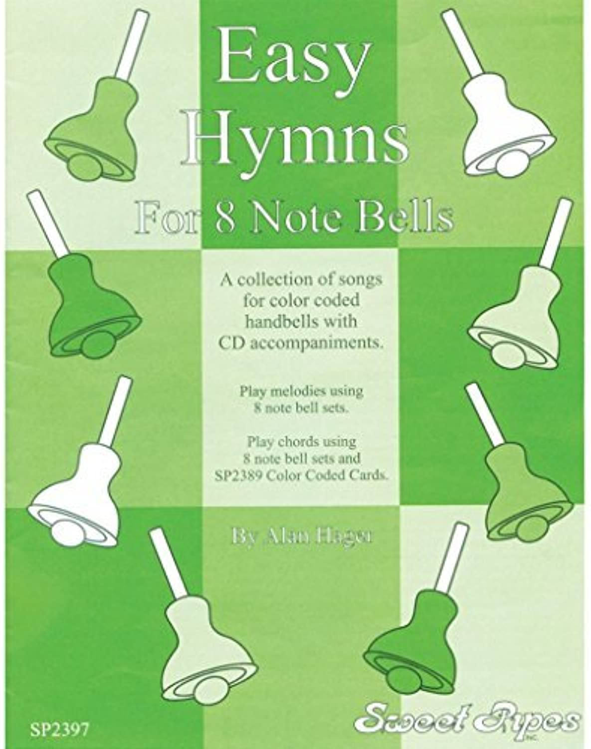 Hager Hager Hager Easy Hymn Book for 8Note Bells (12 Hymns; All Ages) by Westco c5ada0