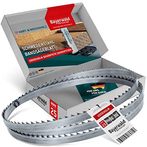 Bayerwald Uddeholm - Hoja de sierra de cinta (3607 x 15 x 0,5 x 6 mm, para todo tipo de madera/sierra de cinta)