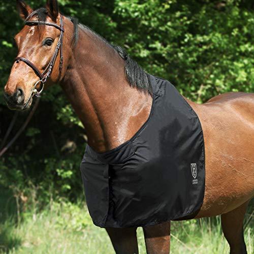 Harrison Howard - Protector de hombro para caballo, protector de pecho, color negro