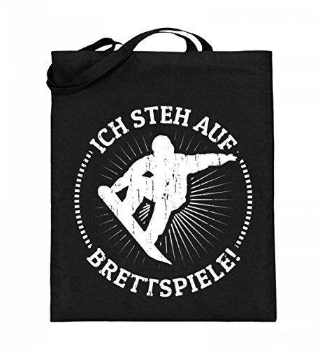 Chorchester hoogwaardige jute tas (met lange handvatten) - Ideaal voor snowboard- en wintersportfans