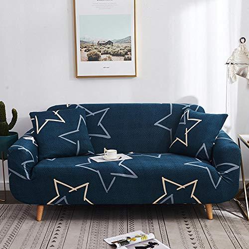 Fsogasilttlv Stretch Housses de canapé en Tissu élastique,Elastic Sofa Cover Stretch for Living Room, Couch Chair Cover Armchair Anti-Dust Furniture Protector-S 1seater 90-140cm(1pcs)