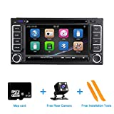 ZLTOOPAI Autoradio per Toyota Land Cruiser 100 200 Prado 120 150 Rush Corolla Hiace Yaris Hilux Stereo GPS Navigation Car Media Player Double Din Head Unit Support WiFi Bluetooth SWC