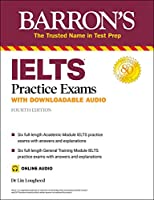 IELTS Practice Exams (with Online Audio) (Barron's Test Prep)