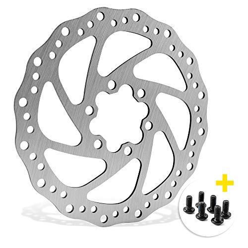 Drahtesel Fahrrad Bremsscheibe 140mm 6-Loch kompatibel mit Avid, Magura, Hayes, Tektro, Shimano UVM.