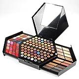 PhantomSky 130 Colores Profesionales Cosméticos Sombra de Ojos Paleta de Maquillaje Kit de Belleza Conjunto